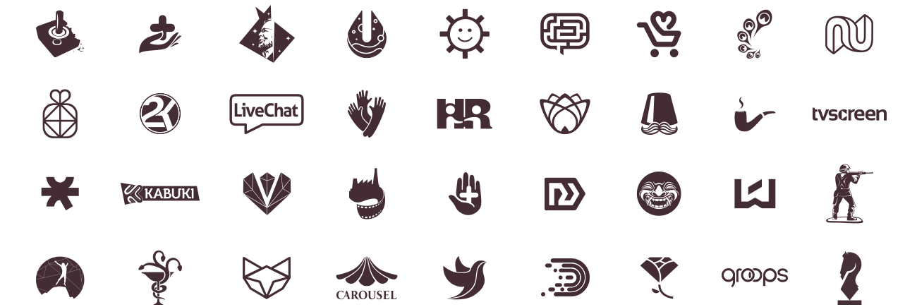 15 years of logo design